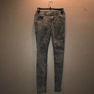 Hot Topic Super skinny Jean Stone wash